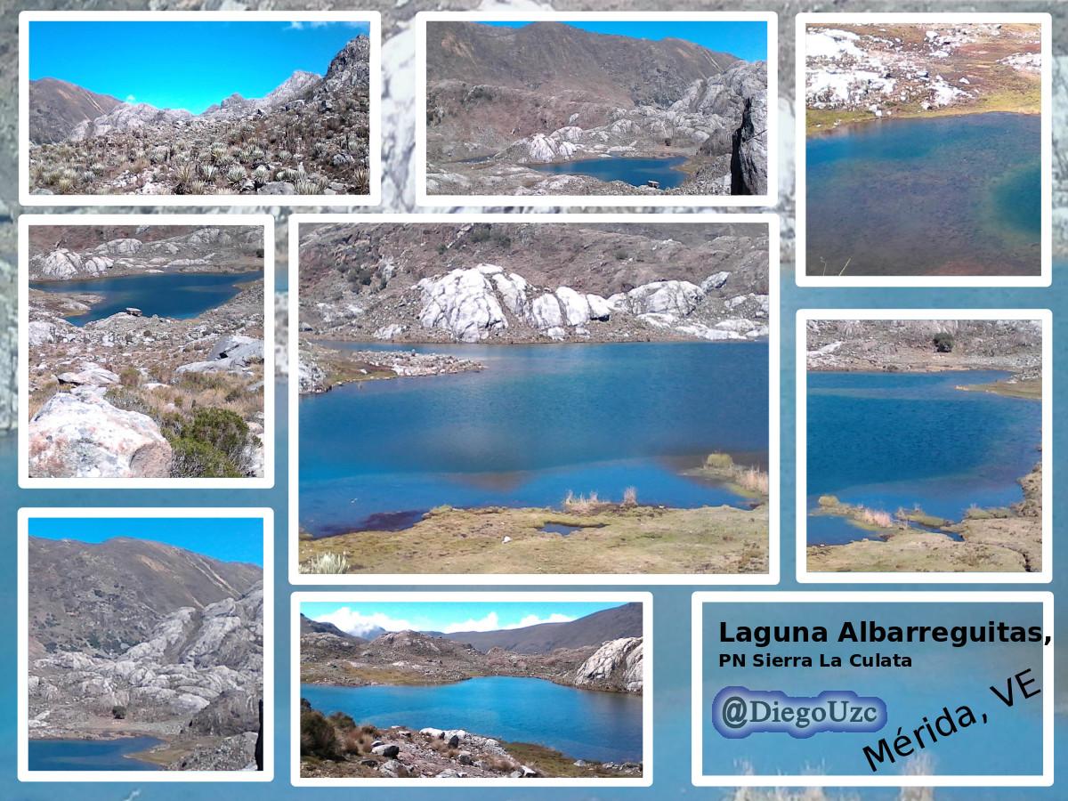 Laguna Albarreguitas - Páramo Los Conejos