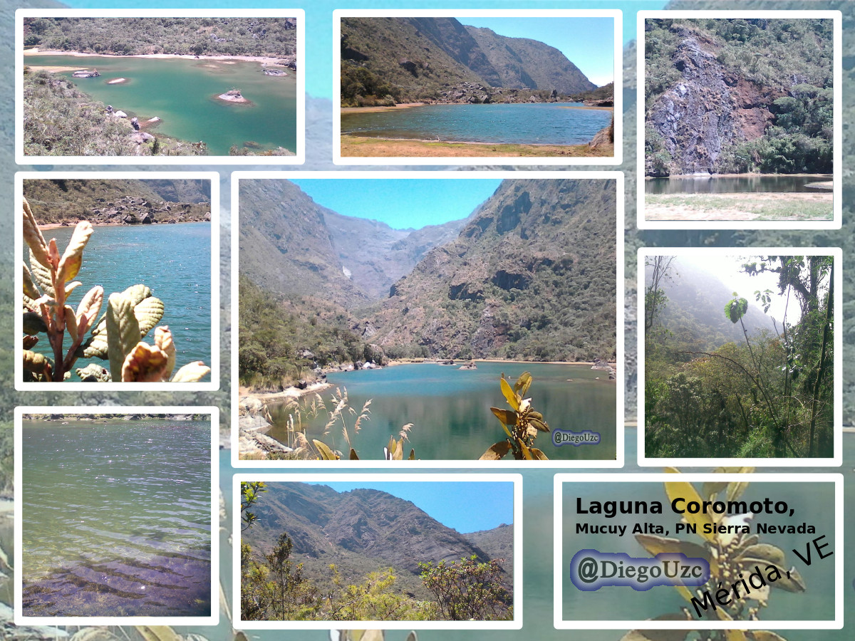 Laguna Coromoto en el Parque Nacional Sierra Nevada
