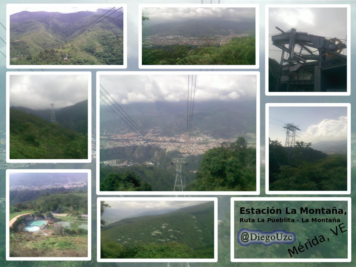 Ruta la Pueblita a la Estación La Montaña de Sistema Teleférico Mukumbarí #ExplorandoRutasEnMéridaVE