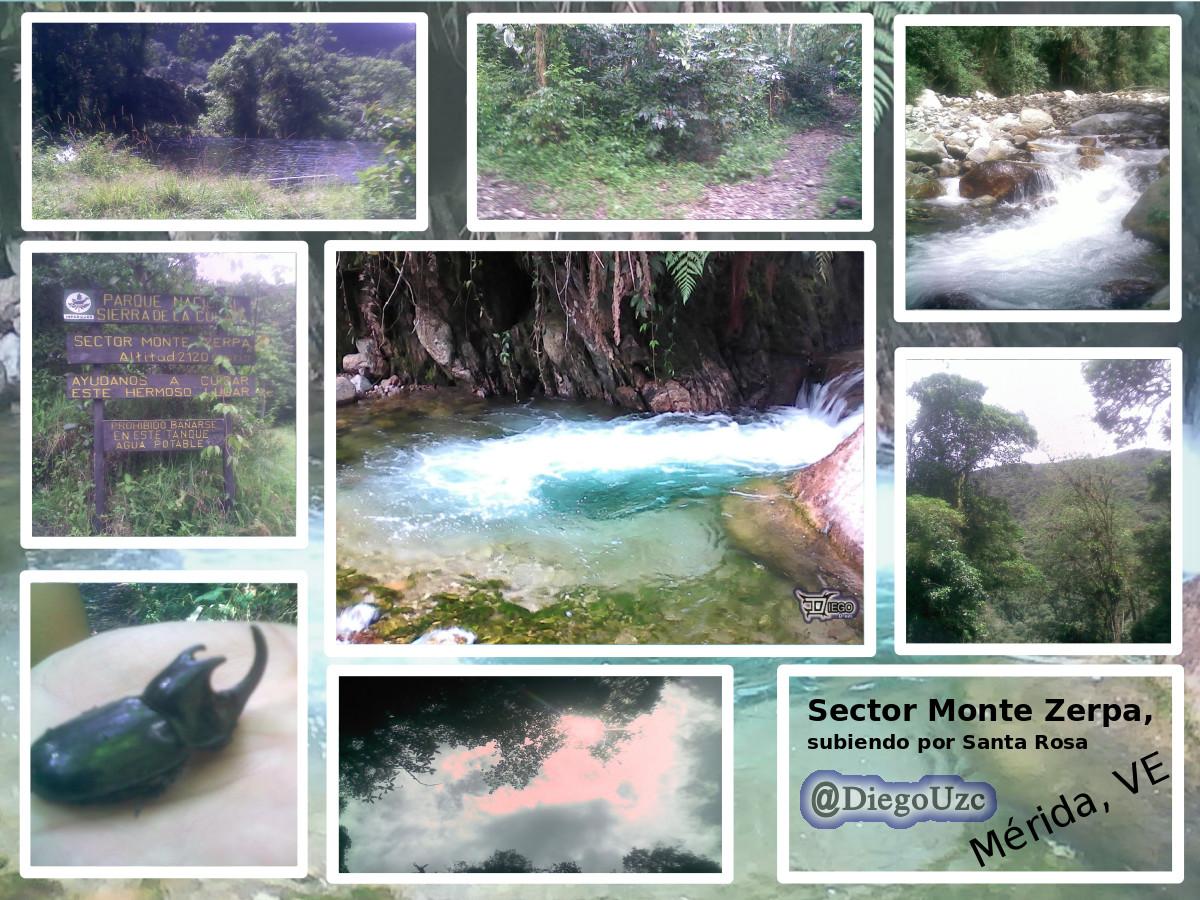 Sector Monte Zerpa (Sierra La Culata) subiendo desde Santa Rosa #ExplorandoRutasEnMéridaVE