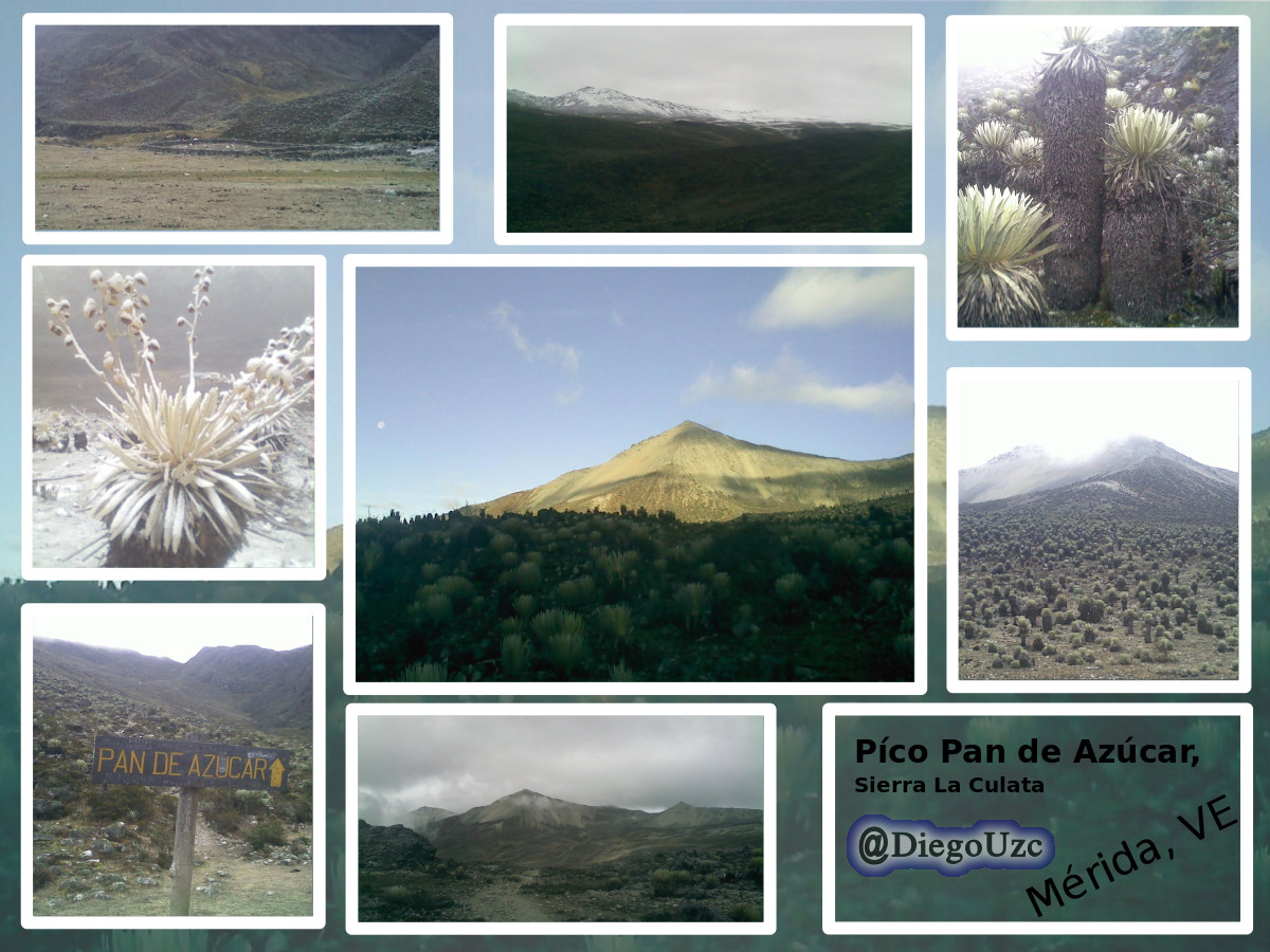 Píco Pan de Azúcar de la Sierra La Culata #ExplorandoRutasEnMéridaVE