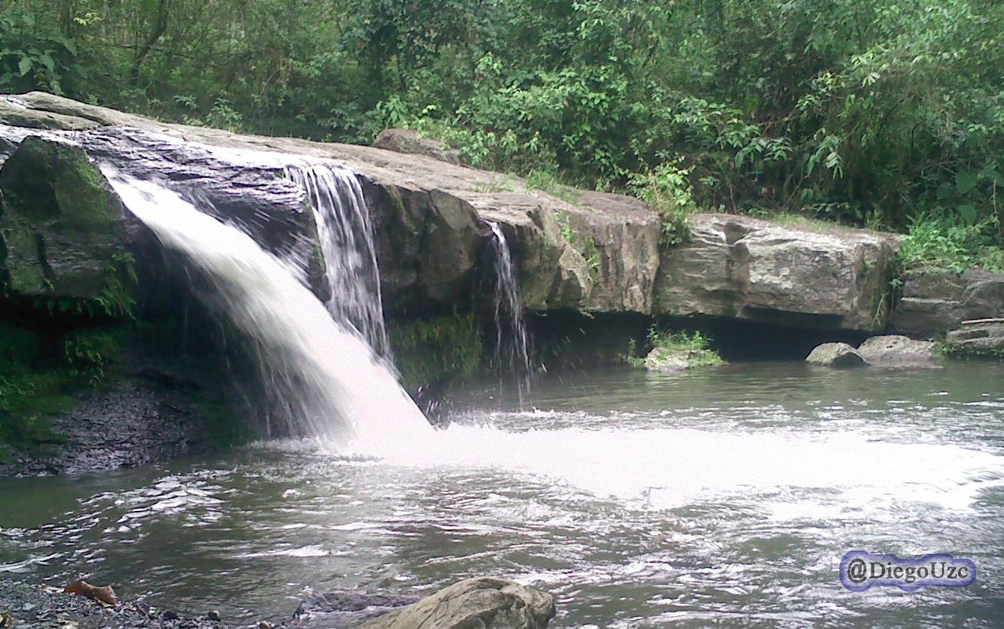 Cascada La Palmita en La Azulita