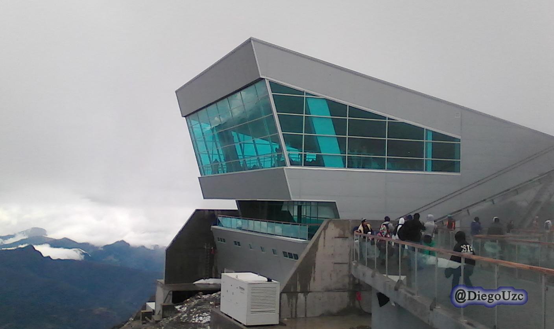 Estación Píco Espejo del Sistema Telefférico Mukumbarí