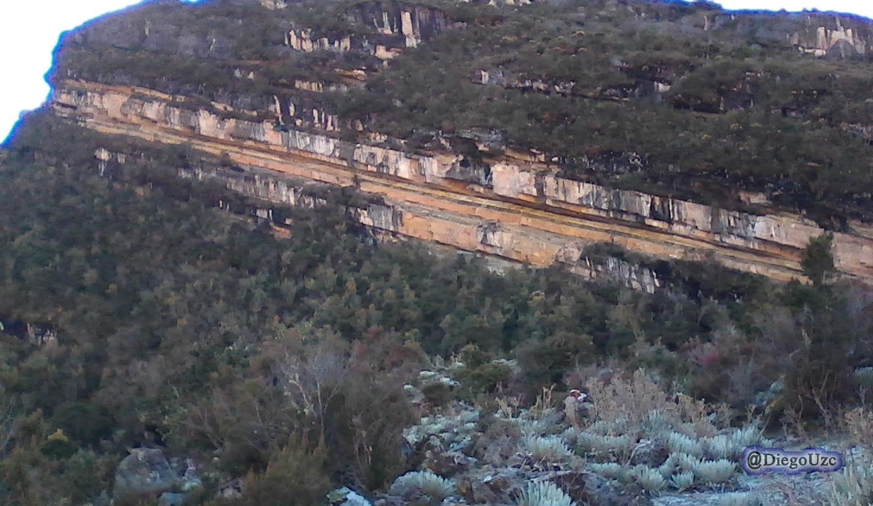 Formaciones rocosas cerca de la cara del indio