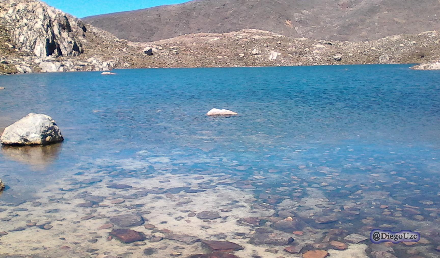 Capa traslucida en la Laguna Albarregas