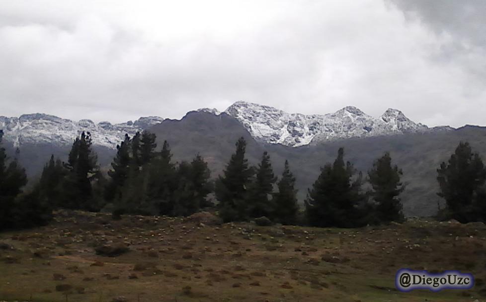 Nevada en la Sierra de Santo Domingo
