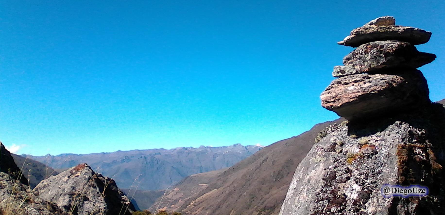 Sierra La Culata desde la Sierra Nevada en Gavidia