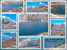 Laguna Cuatro Brazos en Páramo Los Conejos