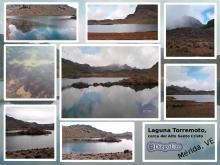 Laguna Torromoto al descender del Alto de Santo Cristo
