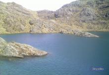 Laguna El Añil cerca de Gavidía