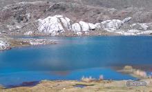 Laguna Albarreguitas en el Páramo Los Conejos