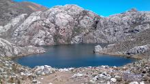Laguna Cuatro Brazos, Páramo Los Conejos - Sierra La Culata