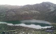 Una de las lagunas encontradas en la travesía La Culata - La Musui