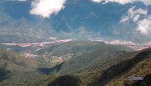 Vista de Mérida desde El Paramito - Monte Zerpa