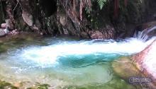 Río Albarregas en un parte de Monte Zerpa