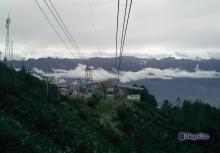 Subiendo a Loma Redonda, 4ta Estación del Sistema Teleférico Mukumbarí