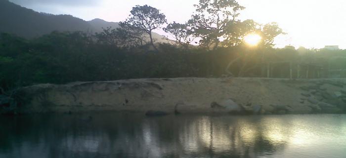 Atardecer en la Cienaga de La Sabana, Estado Vargas