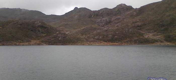 Laguna Miguagó, Páramo de Misteque