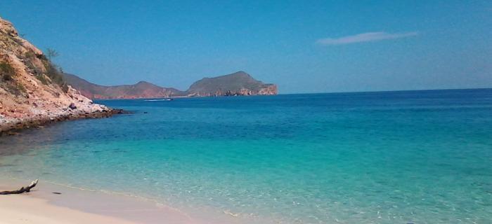 Playa Blanca en Mochima